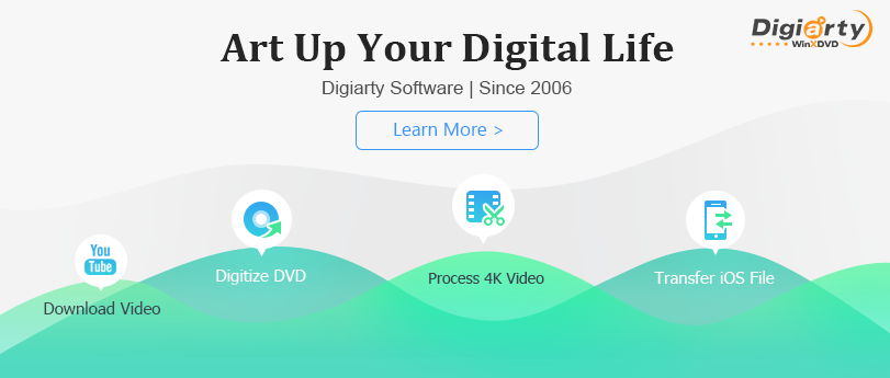 About Digiarty WinXDVD Homepage