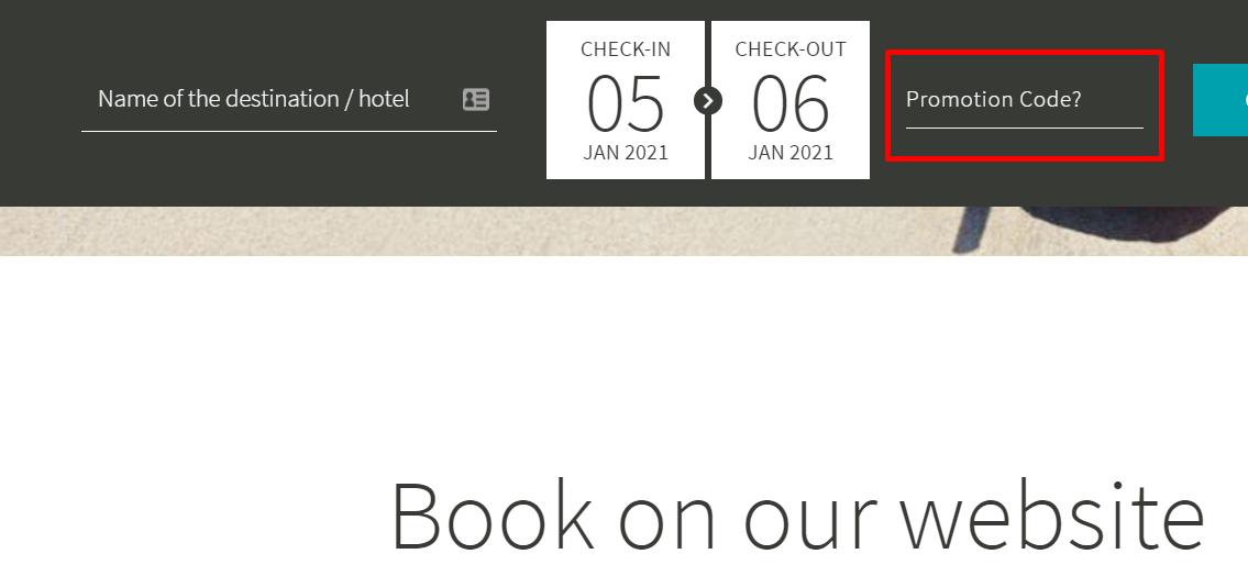 How do I use my Alua Hotels & Resorts promotion code?