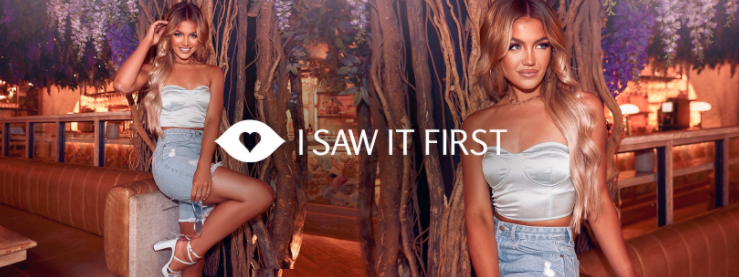 About I Saw It First Homepage