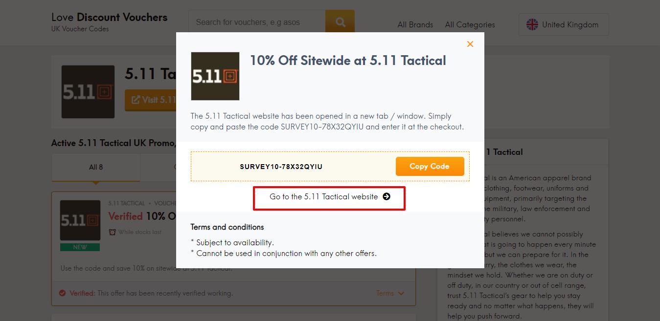 5.11 tactical website