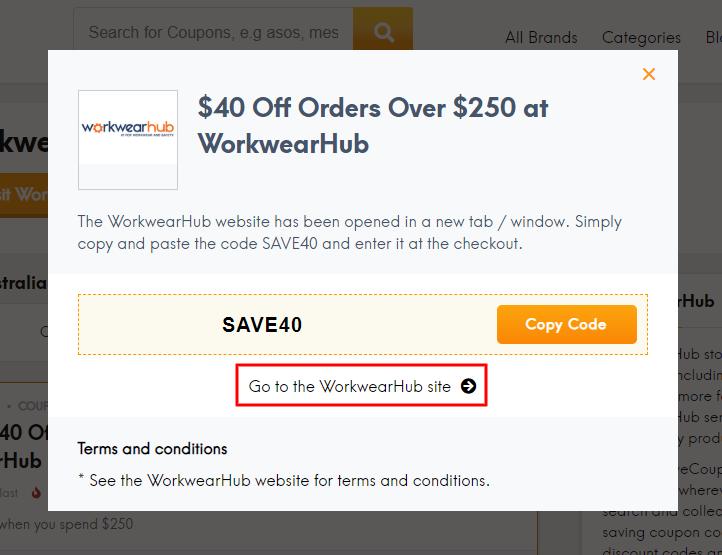 Go to WorkwearHub site