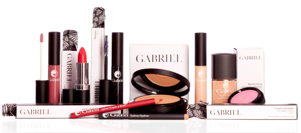 About Gabriel Cosmetics Homepage