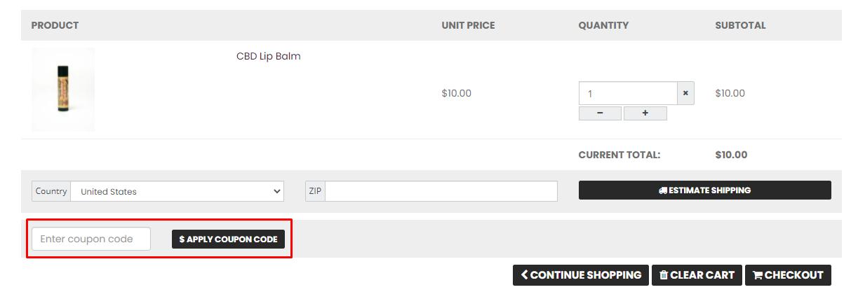 How do I use my CBD American Shaman coupon code?