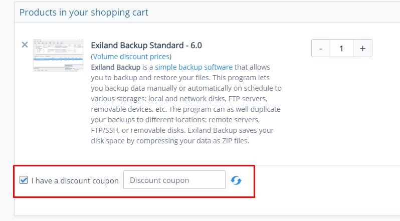 How do I use my Exiland Soft discount code?