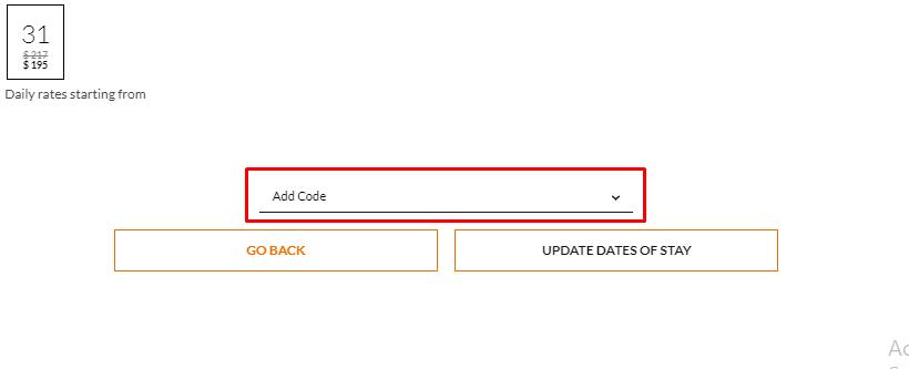 How do I use my NN Hotels code?