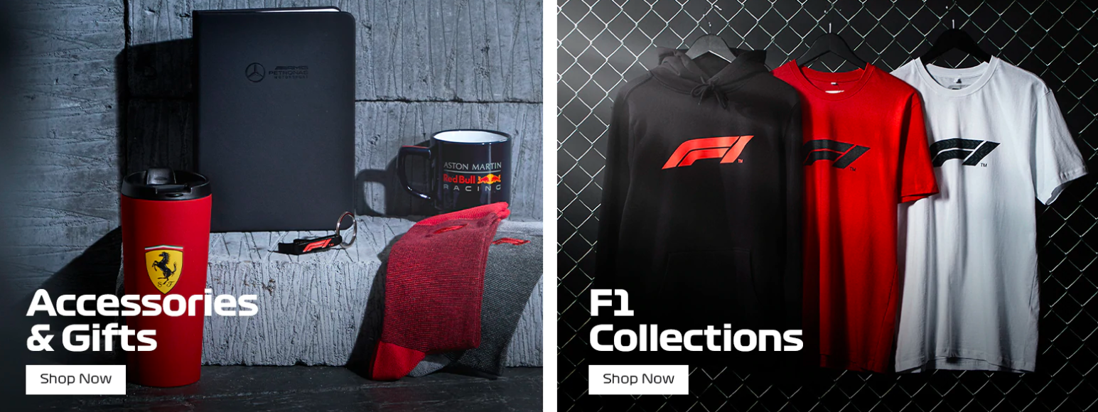 About F1 Store Homepage