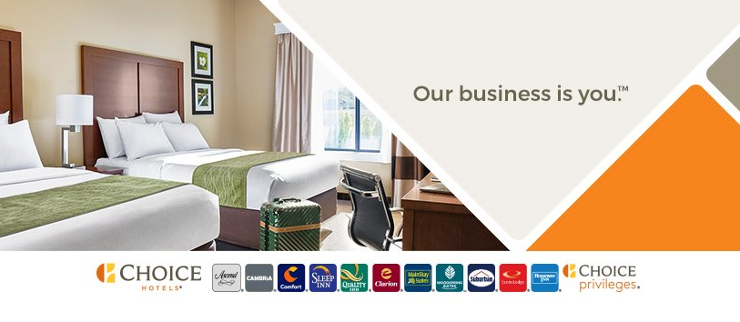 About Choice Hotels Homepage