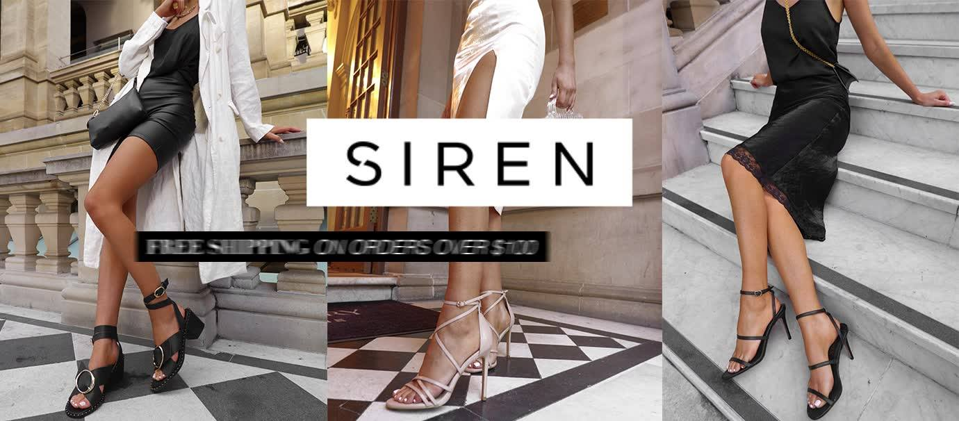 About Siren Shoes Homepage
