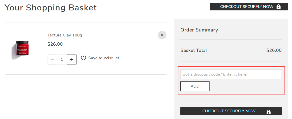 How do I use my Daimon Barber discount code?