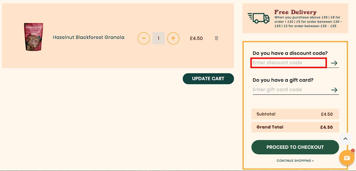 Amazin' Graze UK Discount Code