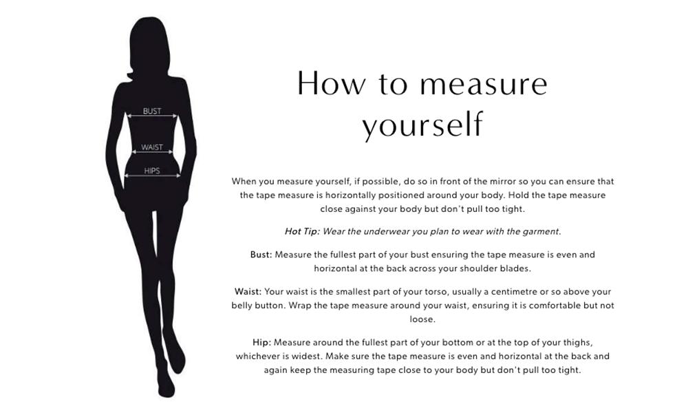 Czarine How to Measure Yourself
