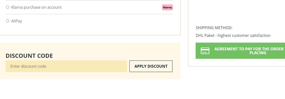 How do I use my Kofferworld discount code?