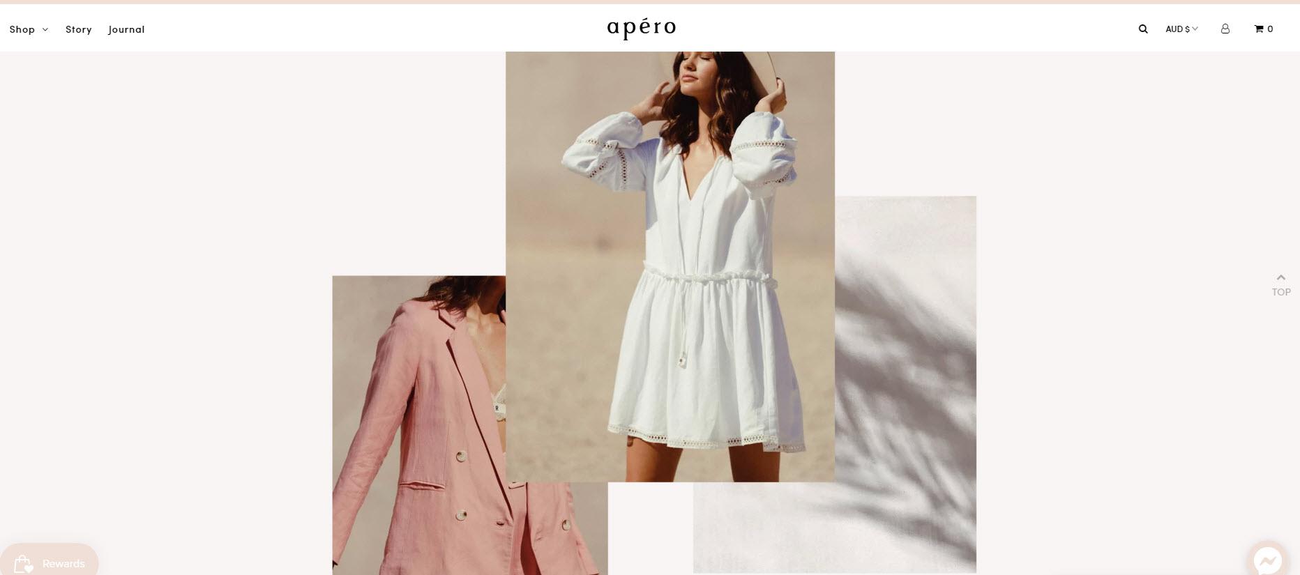 apero label homepage