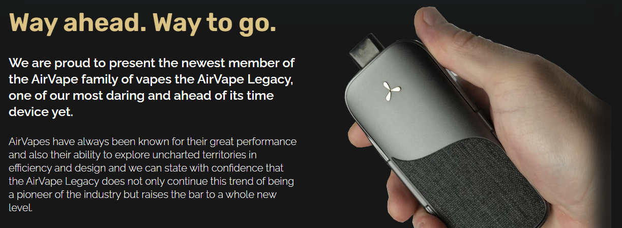 AirVape legacy