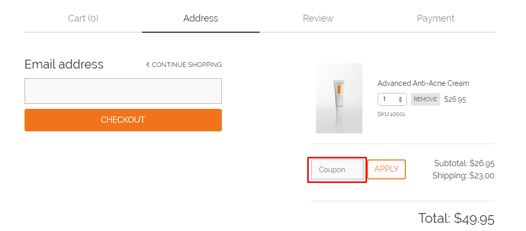How do I use my Epiology coupon code?