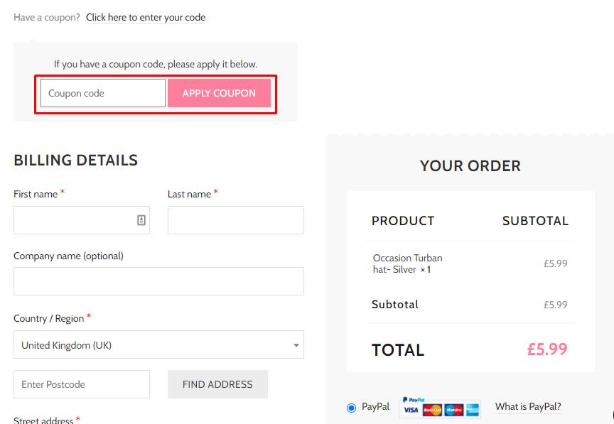How do I use my Florina Boutique coupon code?