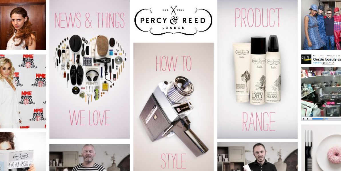 Percy and Reed Homepage
