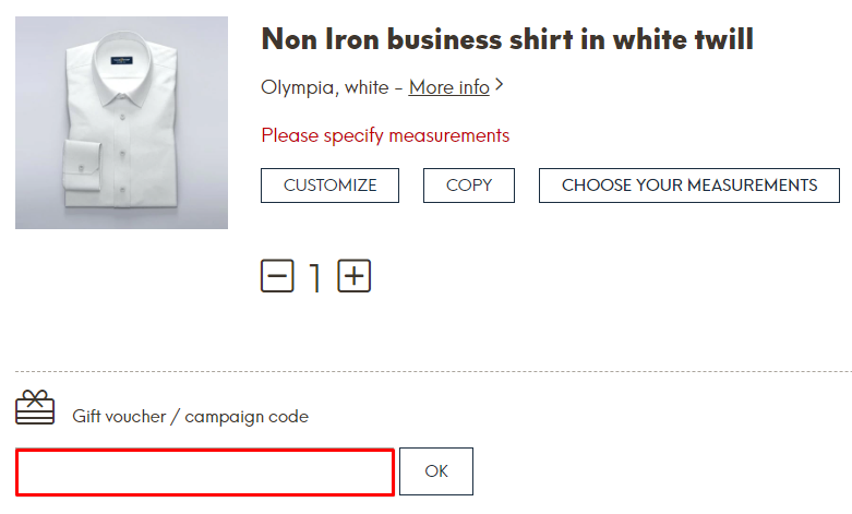 How do I use my Tailorstore discount code?