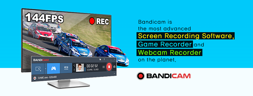 About Bandicam Homepage