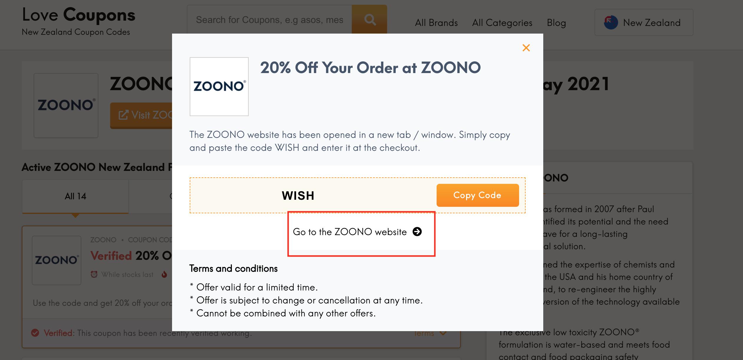 zoonoo go to website