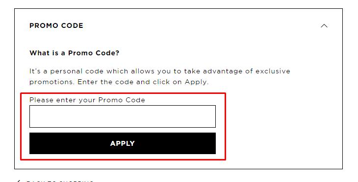 How do I use my Karl Lagerfeld Paris promo code?
