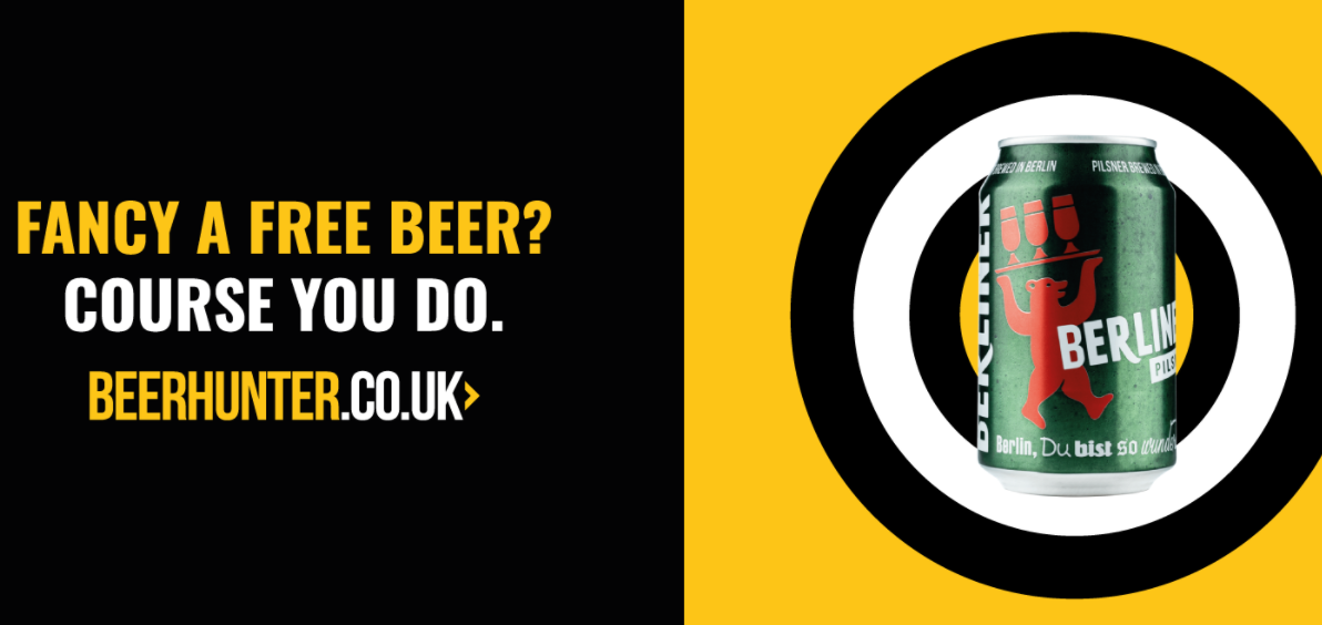 About Beer Hunter Homepage