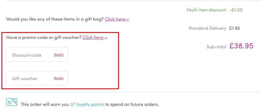 How do I use my Perfume Click promo code?