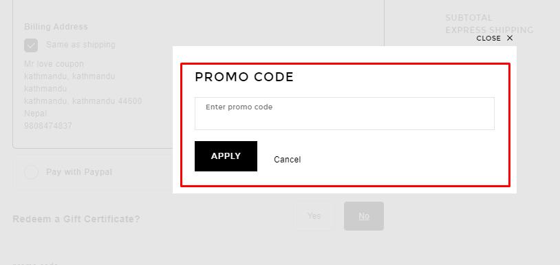 How do I use my Forward promo code?