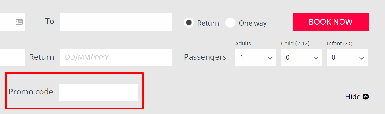 How do I use my Air Arabia promo code?