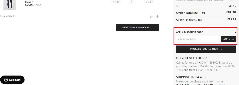 How do I use my Antony Morato discount code?