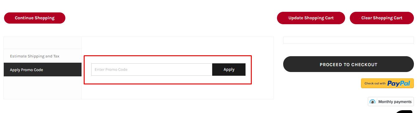 How do I use my eCarpetGallery promo code?