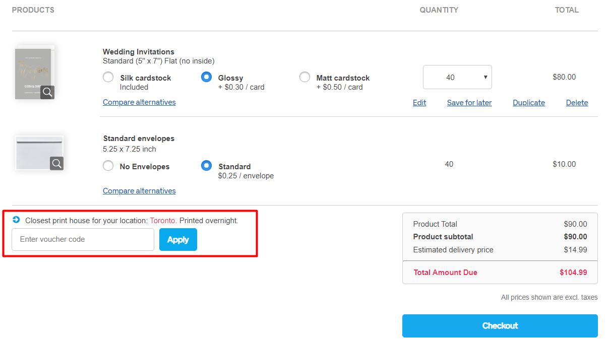 How do I use my Optimalprint discount code?