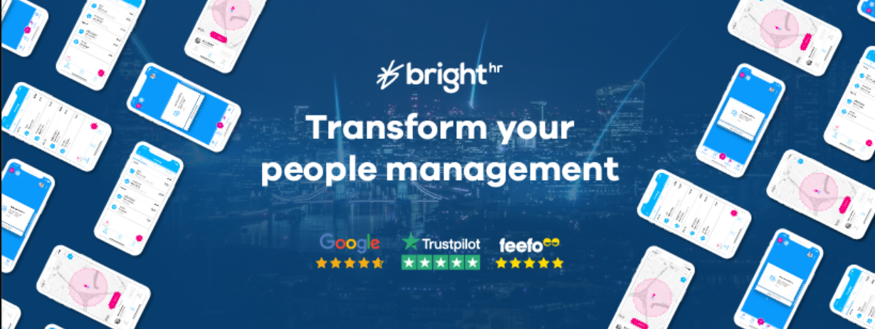 About BrightHR Homepage