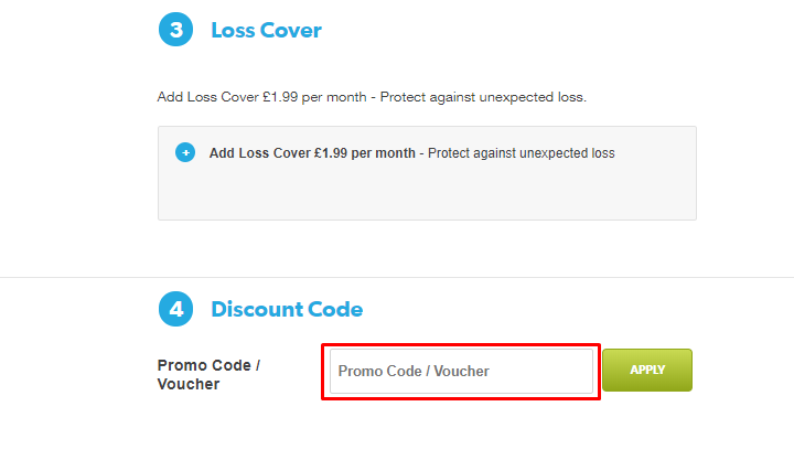 How do I use my Buy Mobile Phone Insurance discount code?