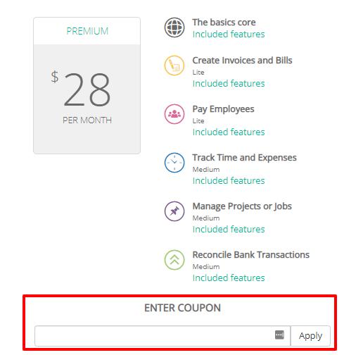 How do I use my Reckon discount code?