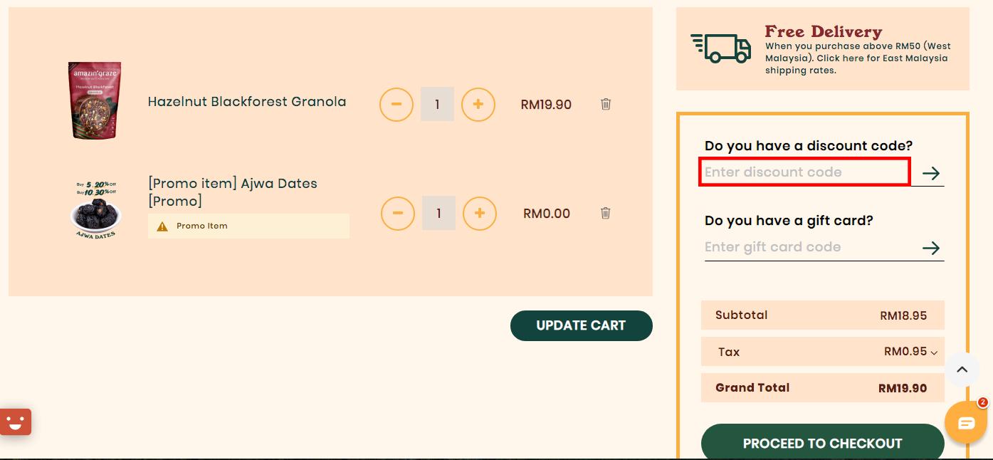 Amazin' Graze MY Discount Code