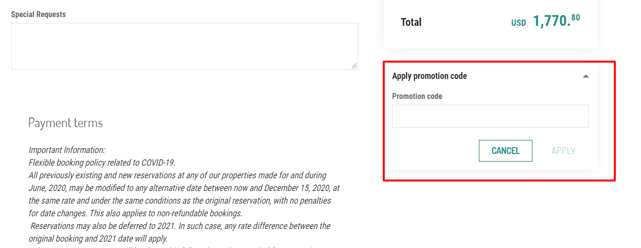 How do I use my Palace Resorts discount code?