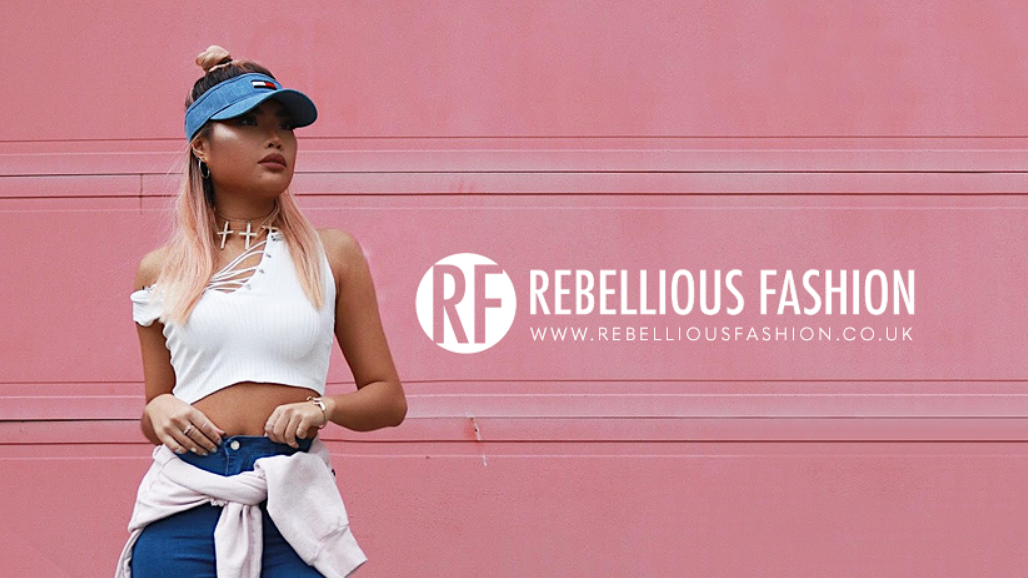 Rebellious Fashion Homepage