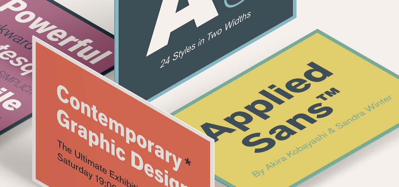 About FontShop Homepage