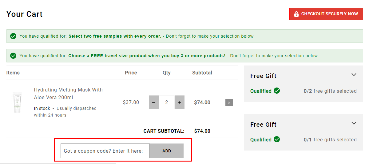 How do I use my Christophe Robin discount code?