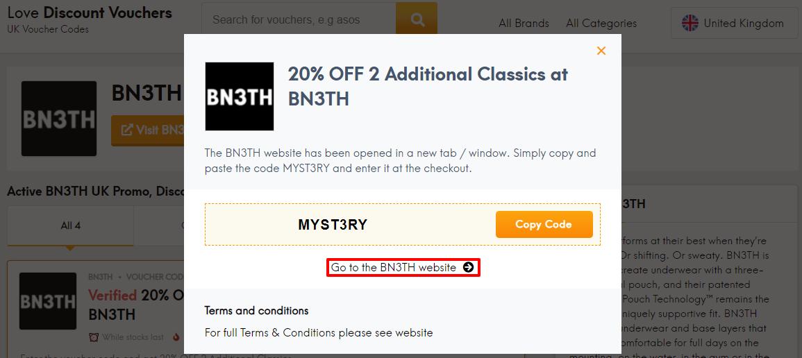 BN3TH Offer UK