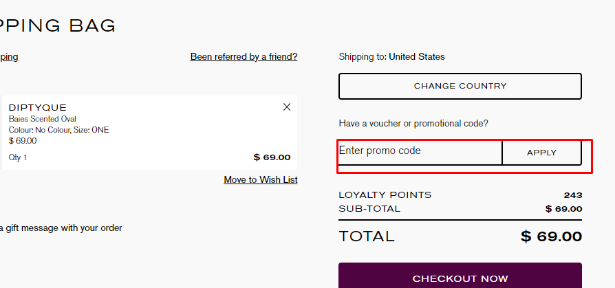 How do I use my Liberty London promotion code?