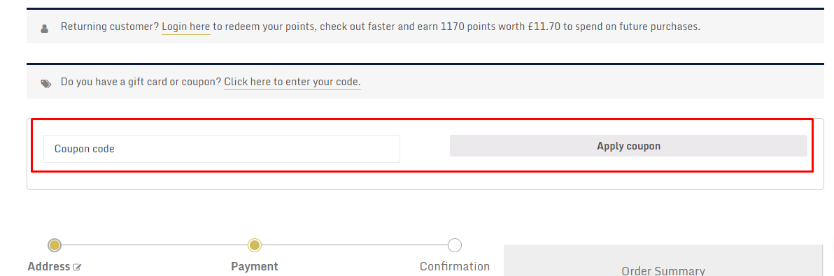 How do I use my Aristocracy London coupon code?