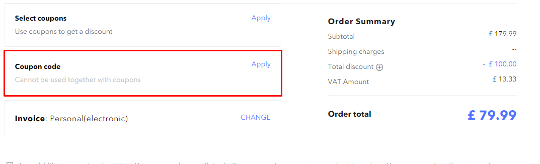 How do I use my Honor coupon code?