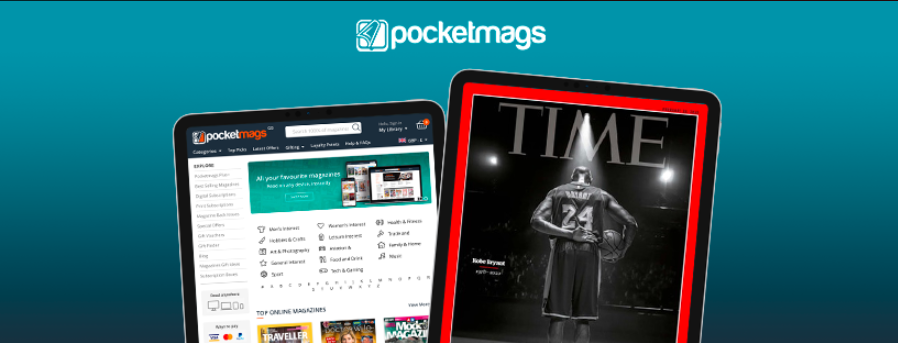 About Pocketmags Homepage
