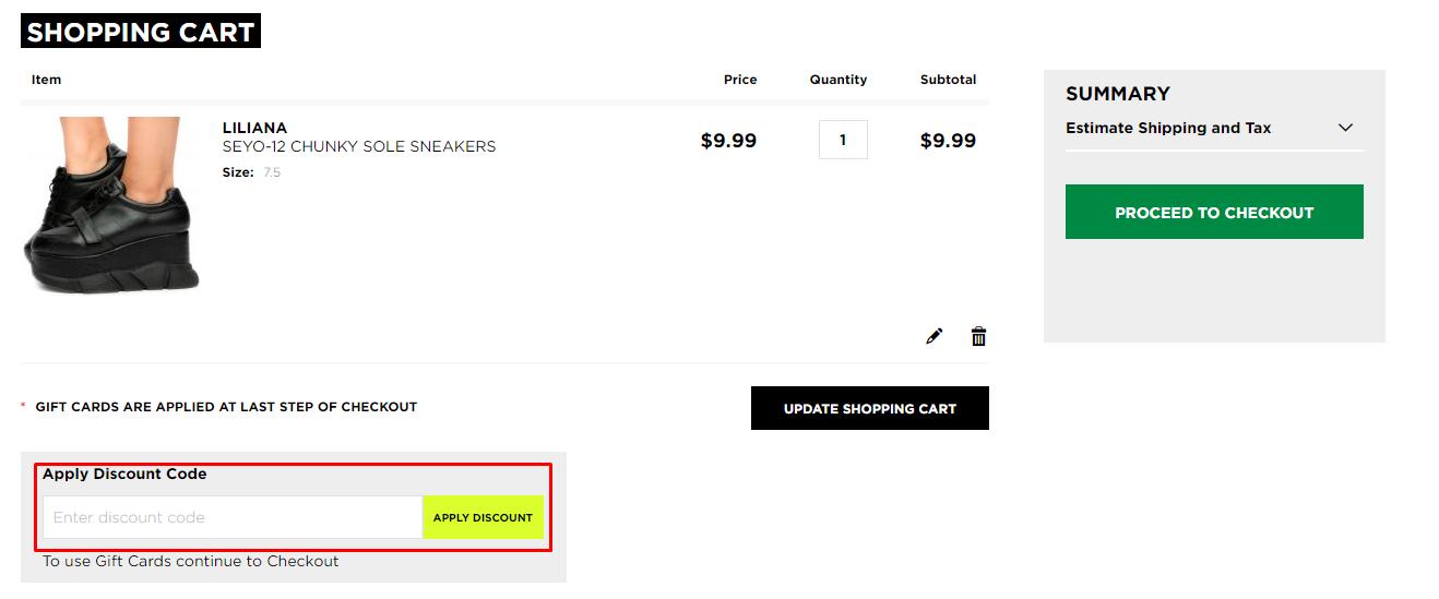 How do I use my Karmaloop discount code?