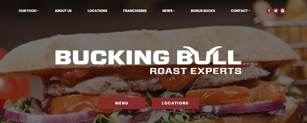 Bucking Bull Homepage