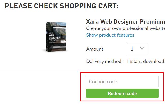 How do I use my MAGIX coupon code?