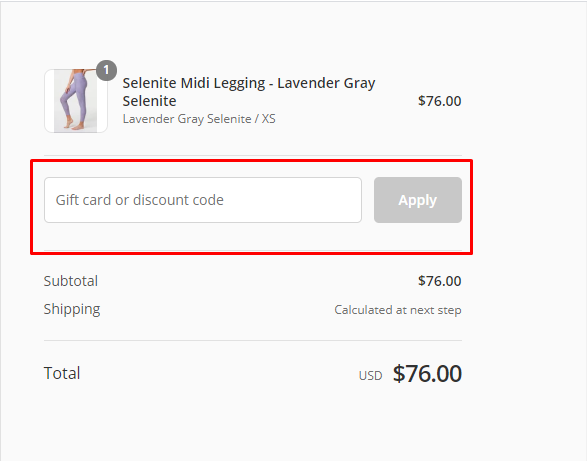 How do I use my Onzie discount code?