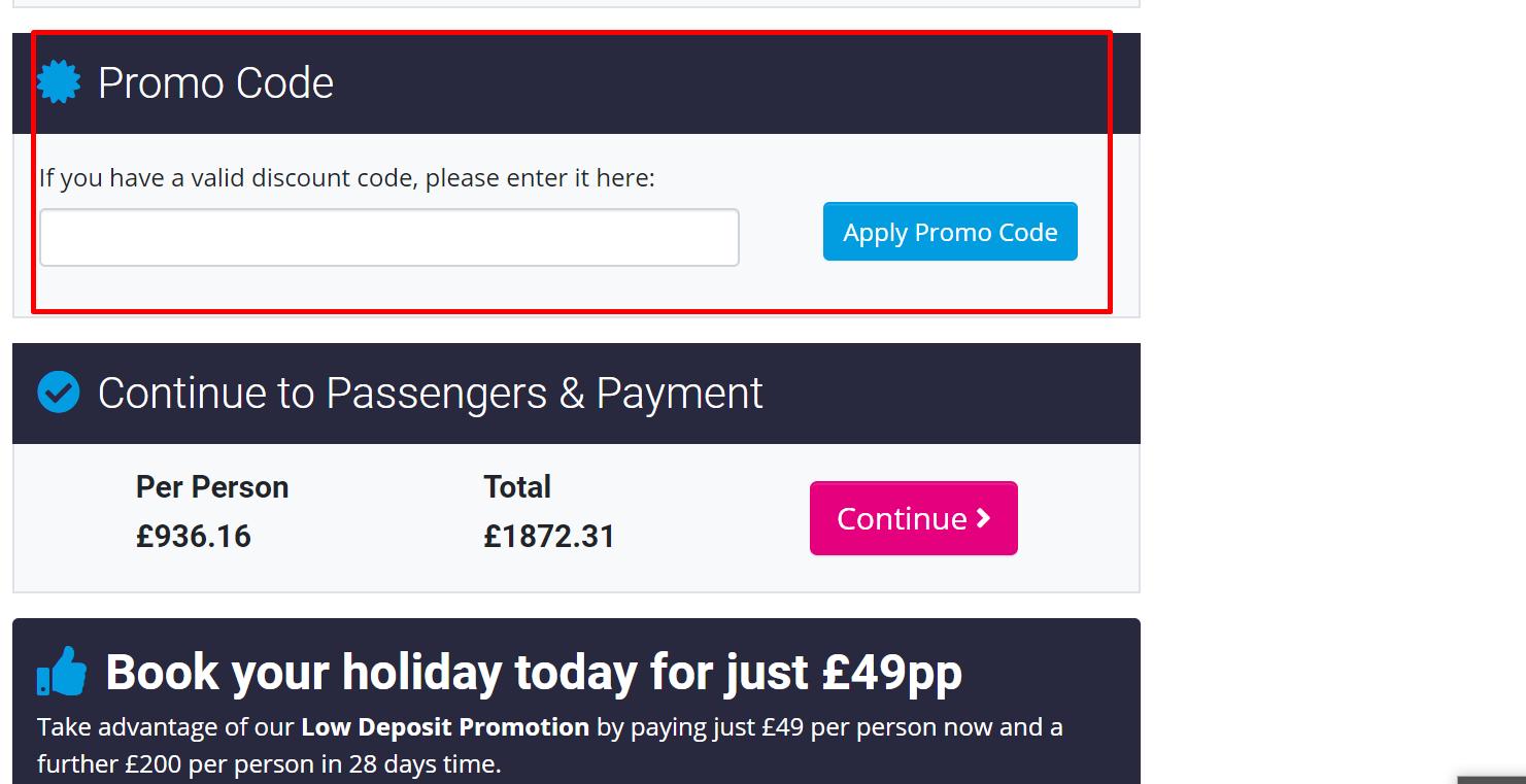 How do use my Mercury Holidays discount code?